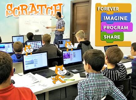 Bolalar uchun vizual dasturlash (Scratch)