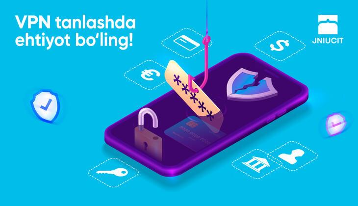 VPN tanlashda ehtiyot bo'ling!
